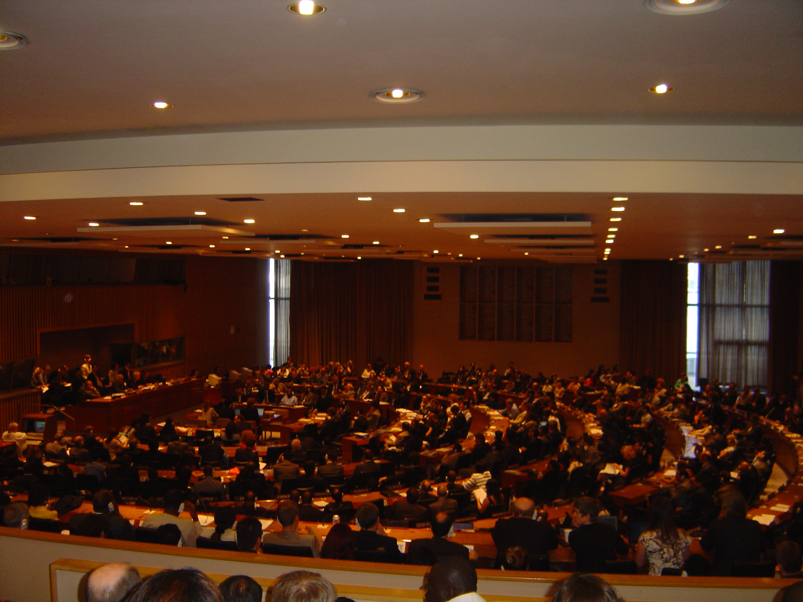 2008 Third Biennial Meeting Of States On Small Arms 14 18 July At UN Headquarters In New York