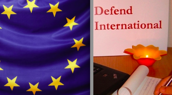 EU Supports Hasanpour & Butimar