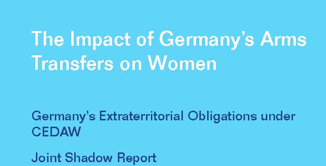 New publication: The impact of Germany's arms transfers on women