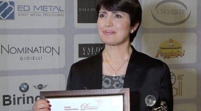 Dr. Widad Akreyi Awarded in Italy