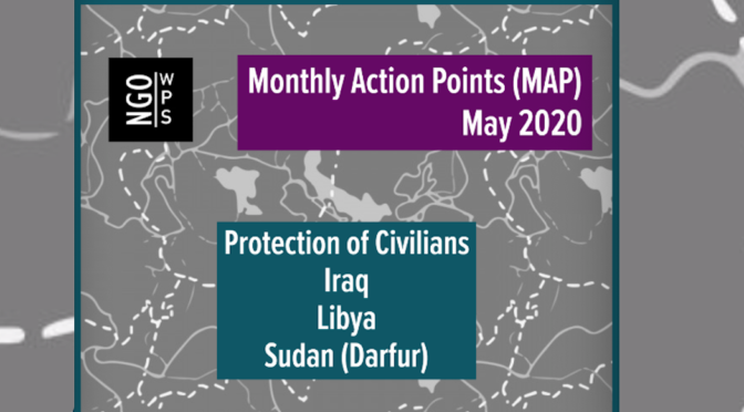 MONTHLY ACTION POINTS ON WOMEN, PEACE AND SECURITY